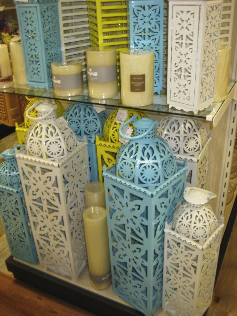 Moroccan inspired lanterns