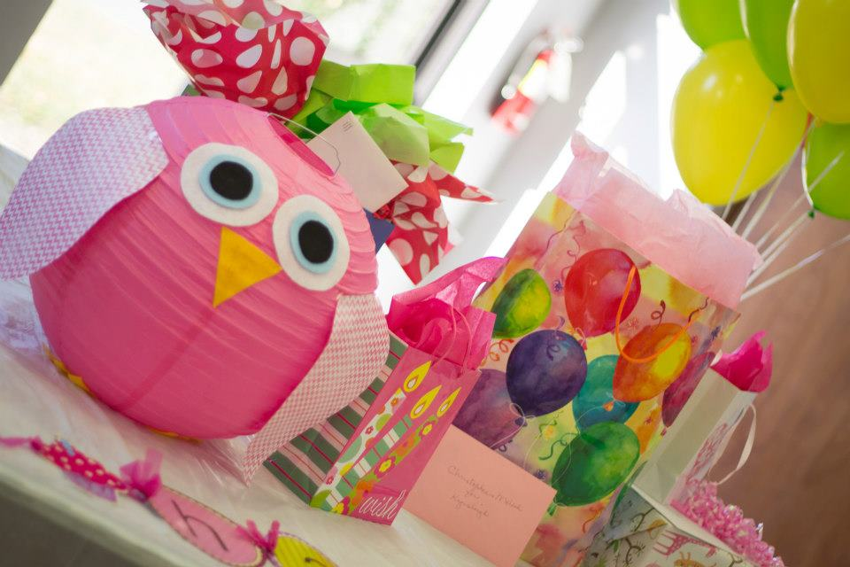 Owl theme birthday