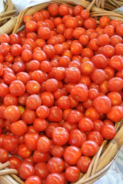 cherry tomatoes Farmers Market with Living With Color Designs