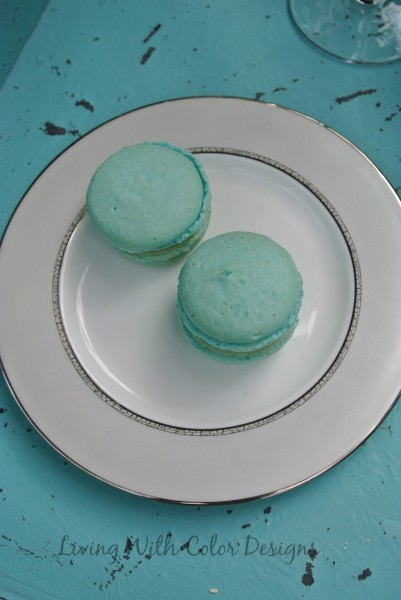 French Macarons - Living With Color Designs & The Table
