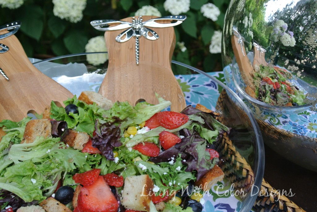 Spring Market Salad - Living With Color Designs & The Table Farmhouse and Bakery