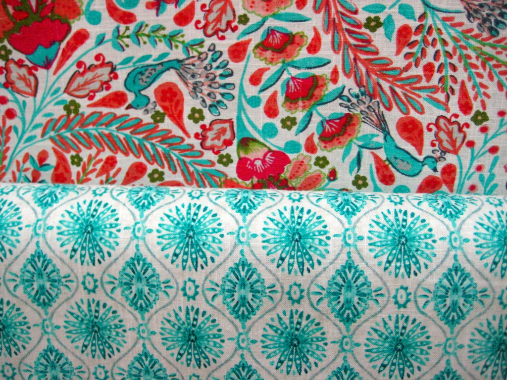 Retro color combination of red and aqua livingwithcolordesigns.com