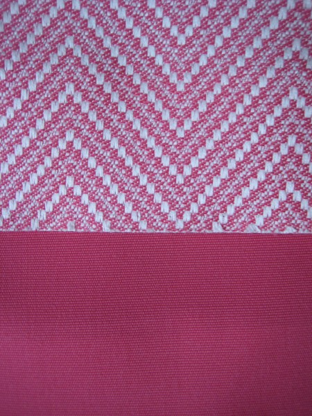 Pink outdoor fabrics - Living With color Designs