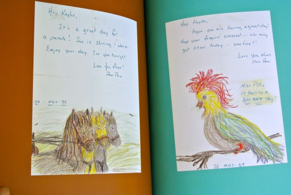 Lunchbox Notes: Bad Hair Day - Living With Color Designs
