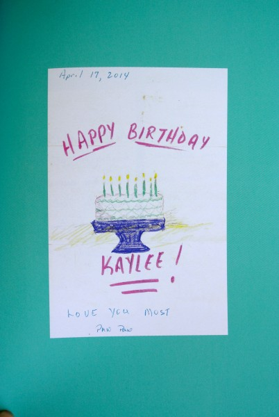Lunchbox Notes: Happy Birthday - Living With Color Designs