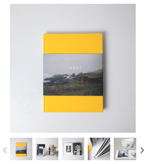 Hardcover photo books by Artifact Uprising - Living With Color Designs