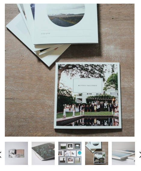 Instagram friendly photo books from Artifact Uprising- Living With Color Designs