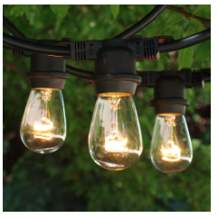 Backyard lighting projects can be a fun way to bring family together.- Living With color Designs