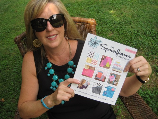 #SpoonlowerHandbookSelfie - Living With Color Designs Blog