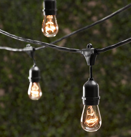 DIY: Outdoor String Lights -Living With Color Designs