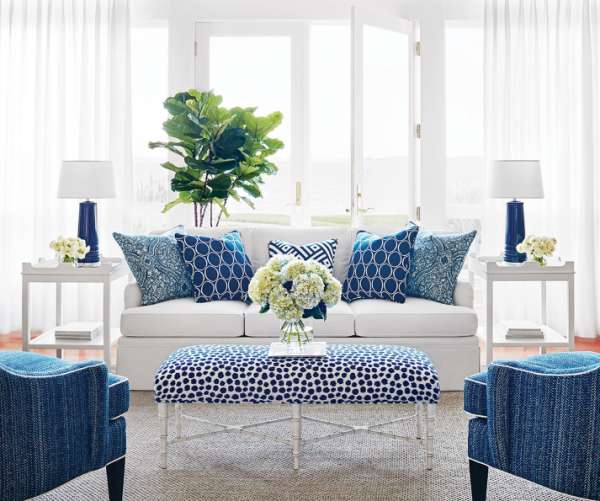 Thibaut 39 s calypso collection living with color designs for Living room ideas uk pinterest