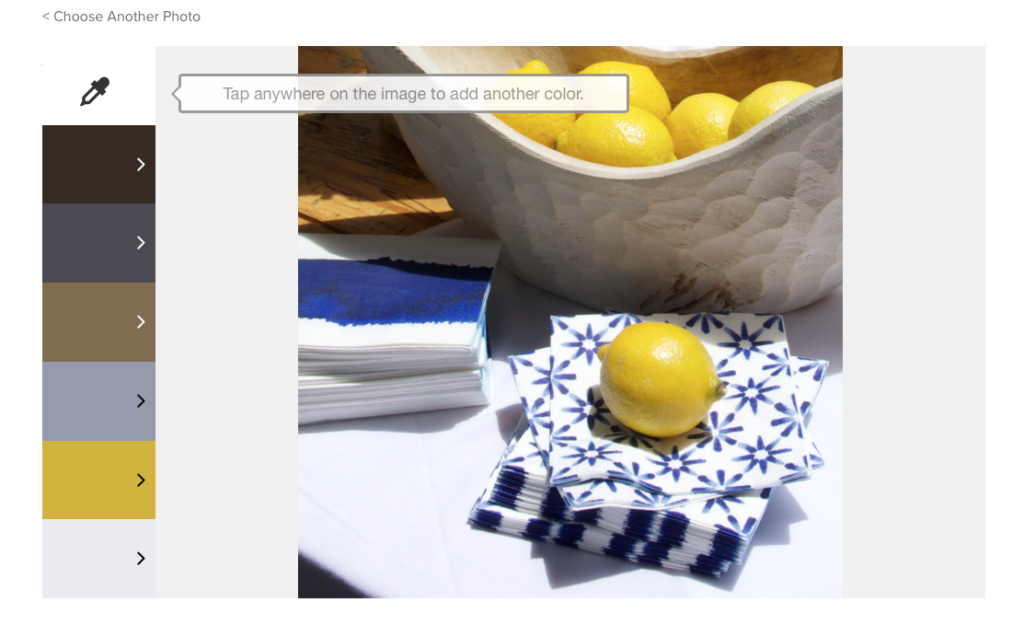 Valspar + Pinterest: Pin Color Analyzer- Navy and Yellow tablescape- Living With Color Designs Blog