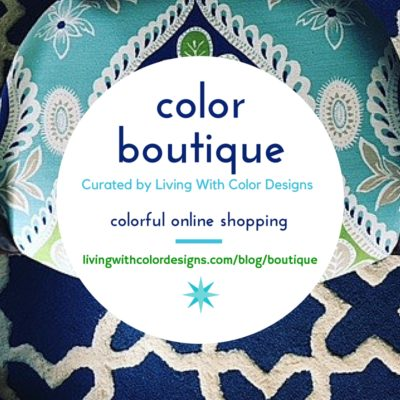 Shop designer pillows in the Color Boutique