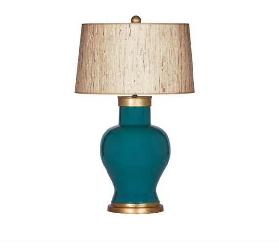 Table Lamp, Emerald