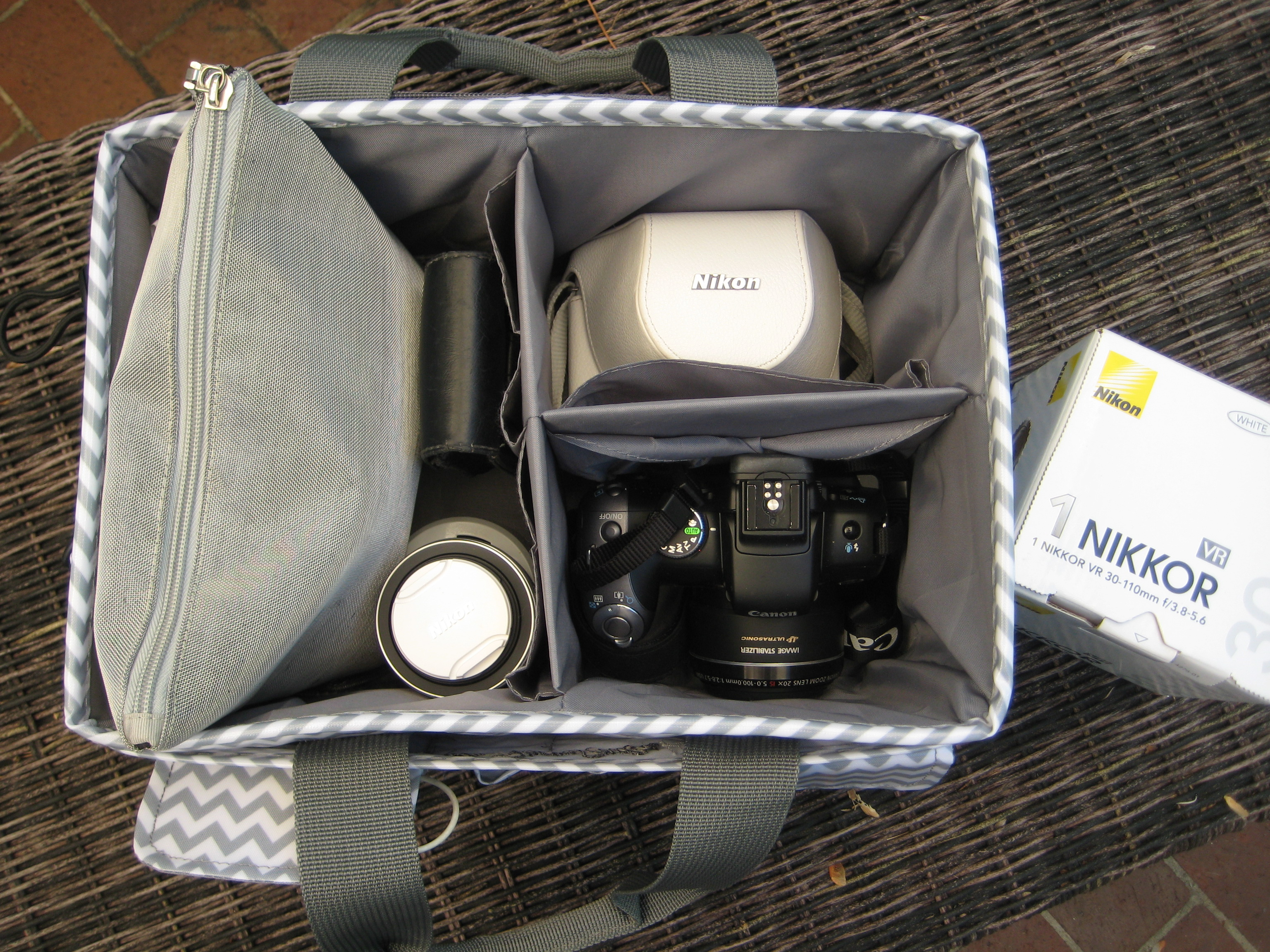 The Paper Studio Organizer used for cameras