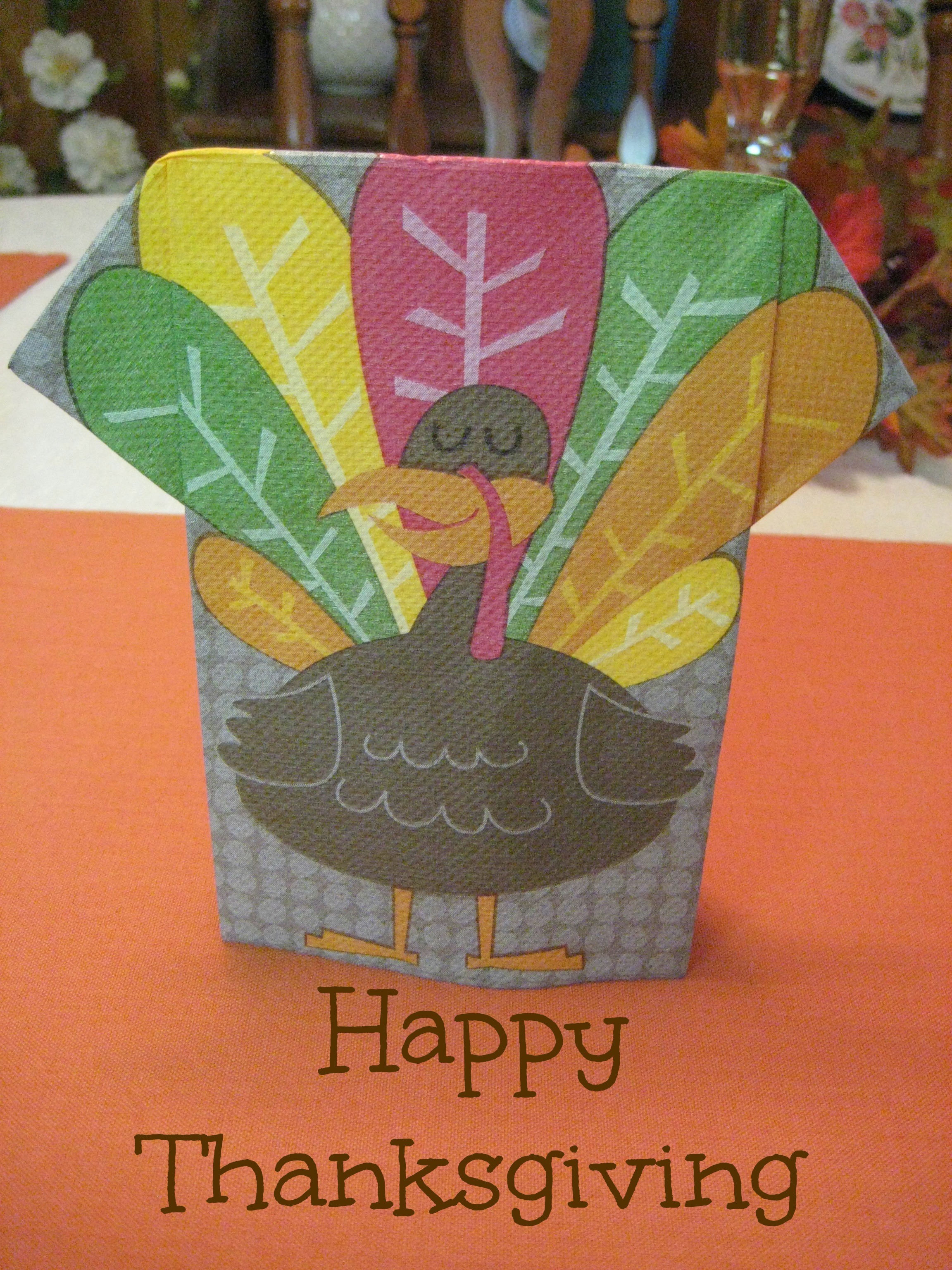 Turkey Napkin