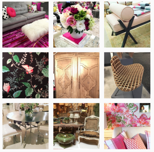 Highlights From High Point Market -Living With Color Designs Instagram