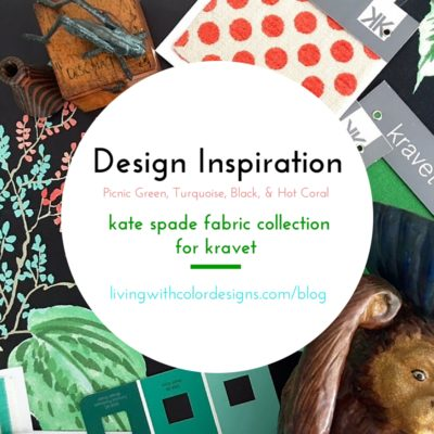 Kate Spade Fabric-Design Inspiration: Living With Color Designs Blog