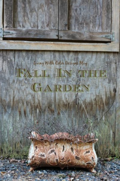 Fall in the Garden: Living With Color Designs Blog- Fall photos