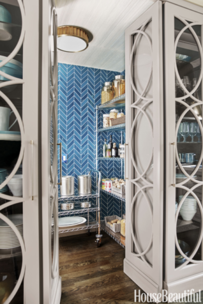 HB 2016 Kitchen Of The Year: Living With Color Designs Blog- hidden pantry