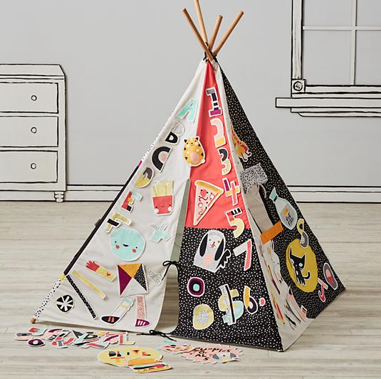 Decorate your own teepee design: Teepees & Indoor Playhouses