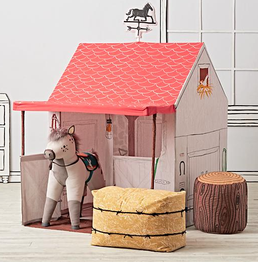 Horse Stable Playhouse: Teepees & Indoor Playhouses